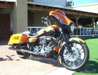 Street Glide Fat Bagger