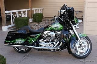 Dave's bike