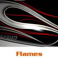 Harley Flame Designs