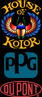 House of Kolors,  PPG and Dupont Logos