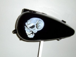 Skulls on Black Picture