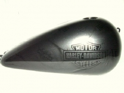 H-D Bar & Shield Logos with Cracks Picture